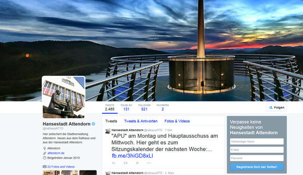 Twitter-Account verifiziert