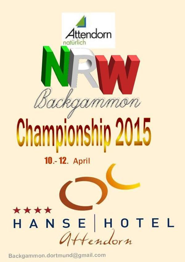 Backgammon NRW-Meisterschaft