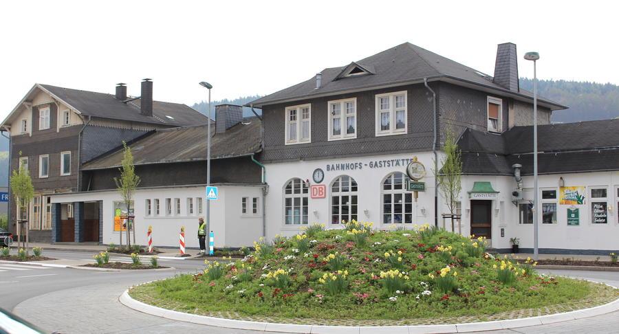Bild vergrößern: Der alte Bahnhof in Attendorn
