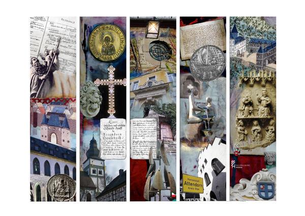 Die Hanse-Collage von Marlies Backhaus