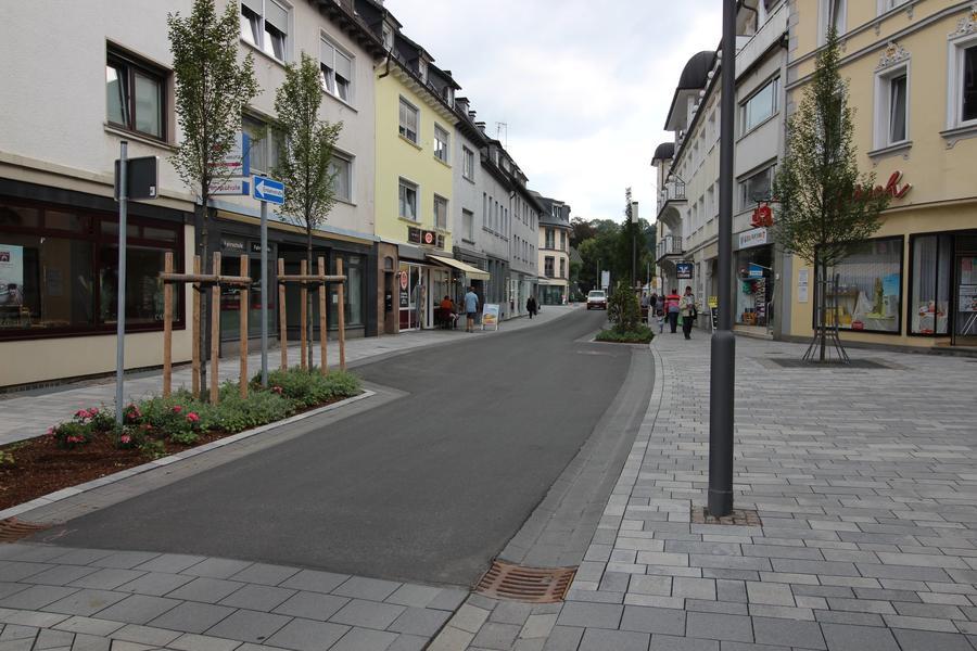 Bild vergrößern: Blick auf eine Straße