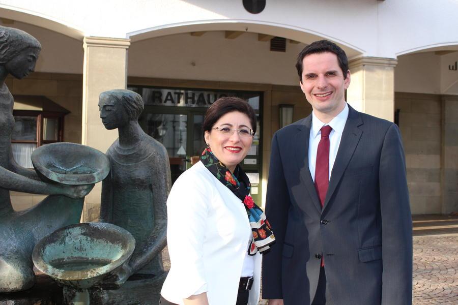Die SPD-Bundestagsabgeordnete Nezahat Baradari besuchte vor einigen Tagen den Attendorner Bürgermeister Christian Pospischil.