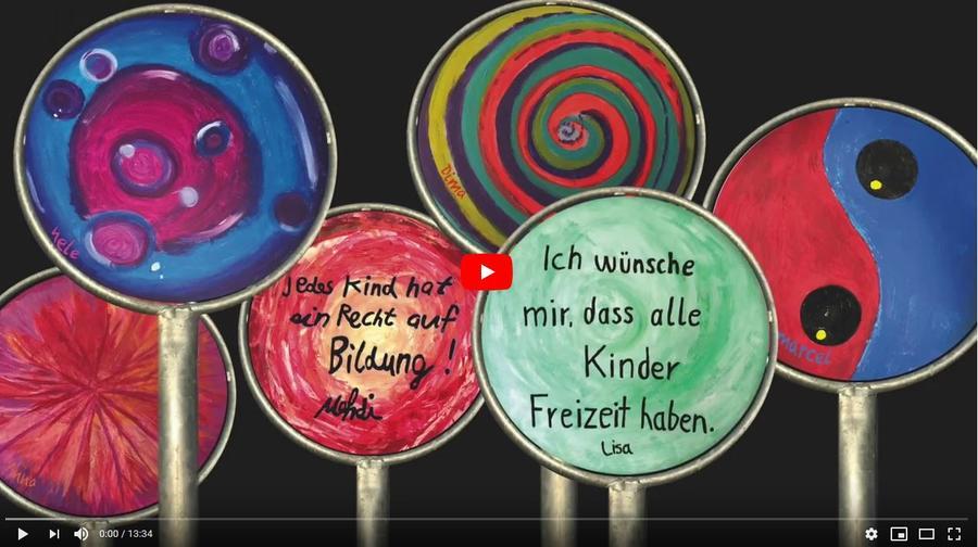Externer Link: Zur Dokumentation Weg der Kinderrechte von Jan Backhaus