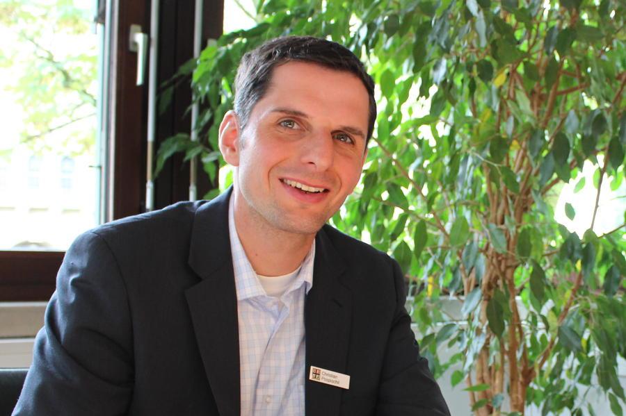 Der Attendorner Bürgermeister Christian Pospischil