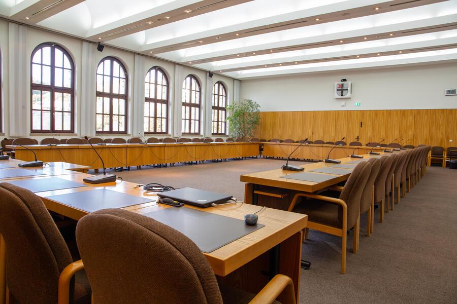 Der Attendorner Ratsaal