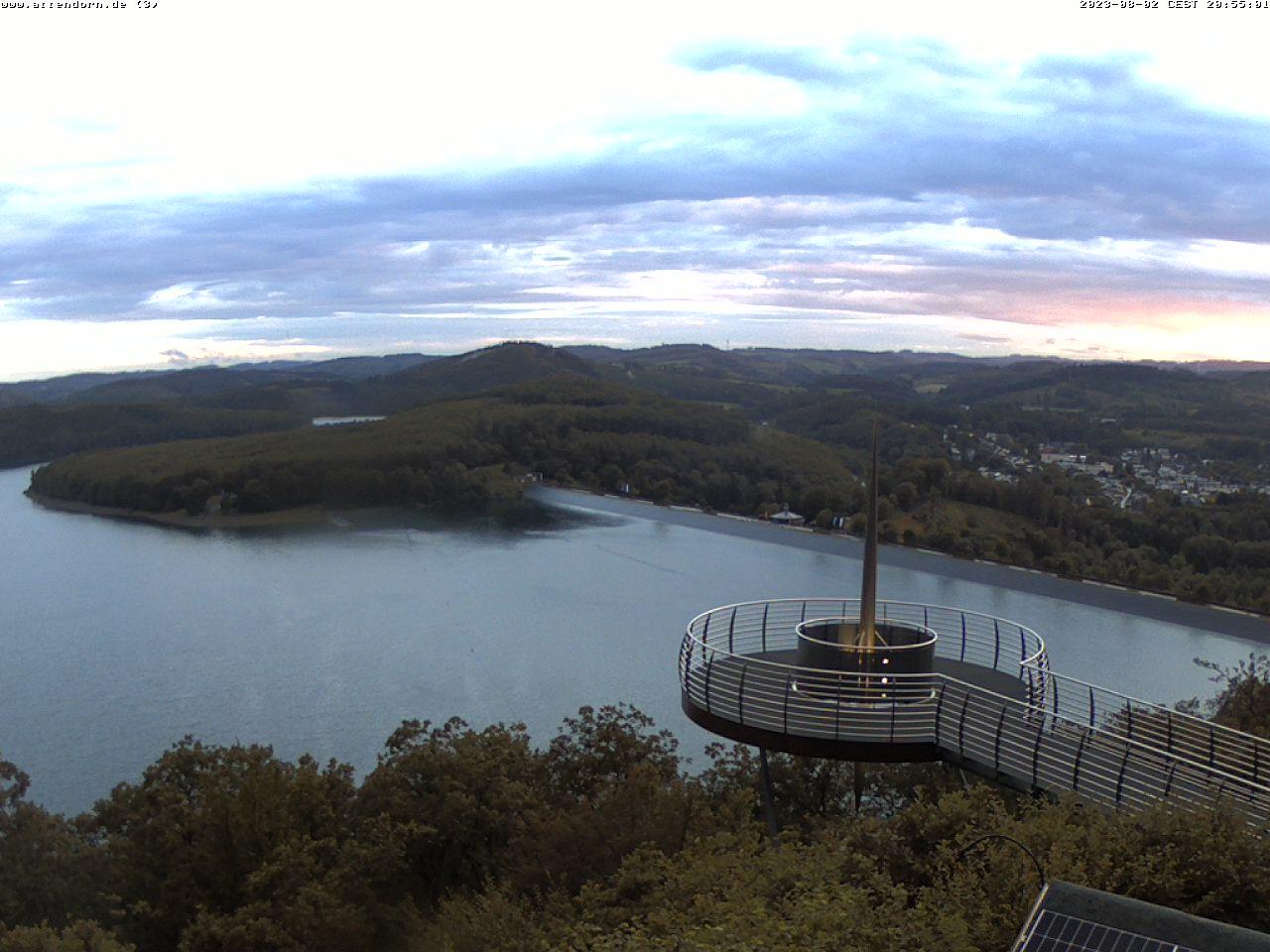 Webcam Biggeblick - Biggesee - Attendorner Geschichten - Stadtmagazin Lokalnachrichten Attendorn